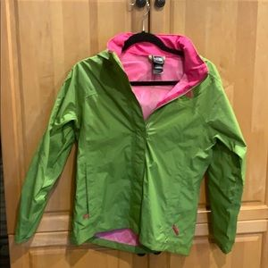 Apple Green and Pink Jacket